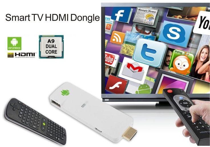 Compra Mini PC Android 4.1 Dongle HDMI Smart TV Dual Core su Dadware. Spedizioni garantite con corriere espresso e pagamento sicuro con PayPal.