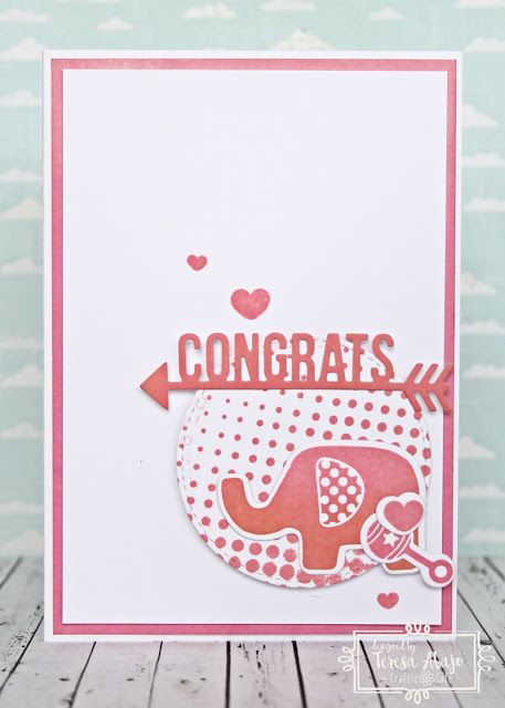 The Tamarisk  A baby card