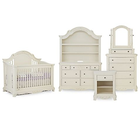 Your nursery will be fit for your darling little princess with Bassettbaby PREMIER's Addison Collection. Showcasing gentle curves, carved ribbons, and rosette details, each piece radiates classic femininity and grace that she can enjoy for years to come.