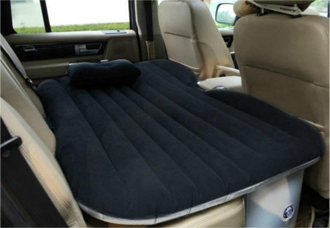 Color: Black Application: Most of the cars and the SUV can be used. Package Include: 1 x Air Bedroom 1 x Electric Air Inflating Pump Why buy this car mattress? 1. Comfortable. Consist of 10 independen