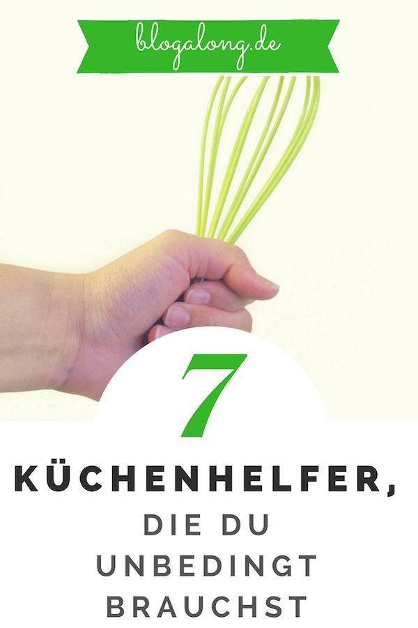 655332ac54edbf Diese 7 Helfer brauchst du unbedingt in deiner Küche  haushalt  ordnung   putzen  aufräumen  sauber  tipps  blogalong