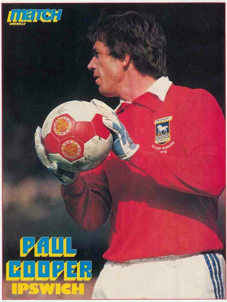 Paul Cooper of Ipswich Town in 1982.