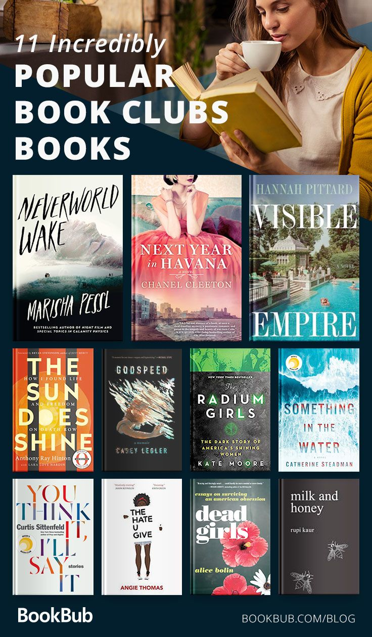 11 Novels Actual Book Clubs Are Reading This Summer Book Club Books Popular Book Club Books Books