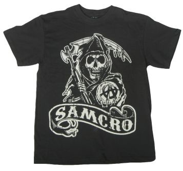 Sons of Anarchy Samcro T-Shirt Front