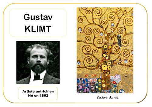 Gustav Klimt - Portrait d'artiste