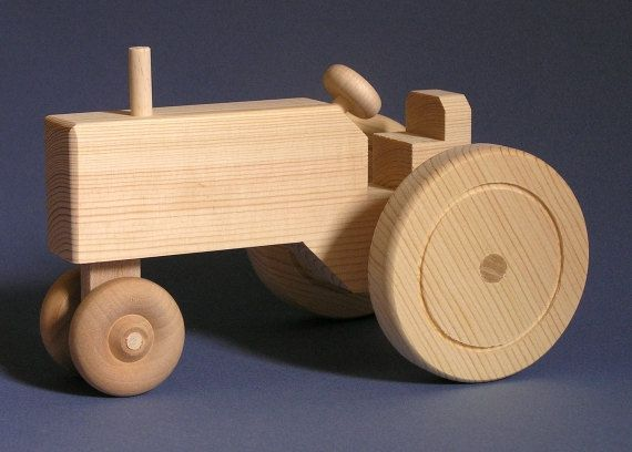 Wooden Farm Tractor Plans - WoodWorking Projects & Plans