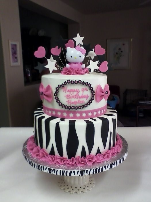 Hello Kitty birthday cake... Gracie would LOVE this!!! <3