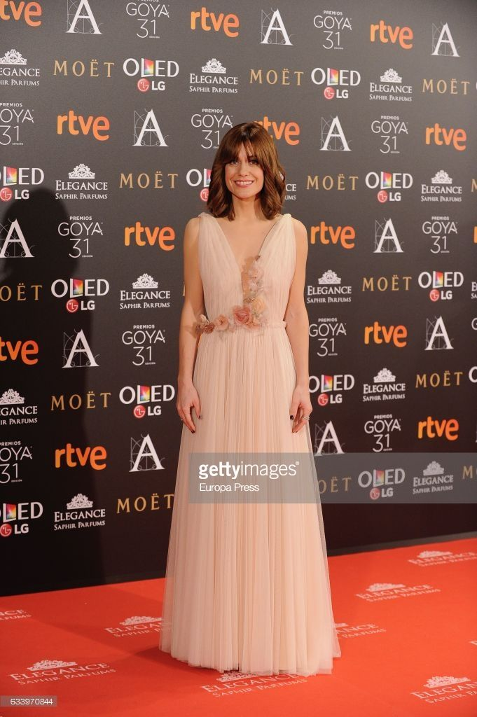 Madrid Spain February 04 Alexandra Jimenez Attends Goya Cinema