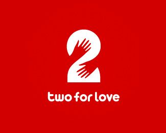 two for love sexy logo