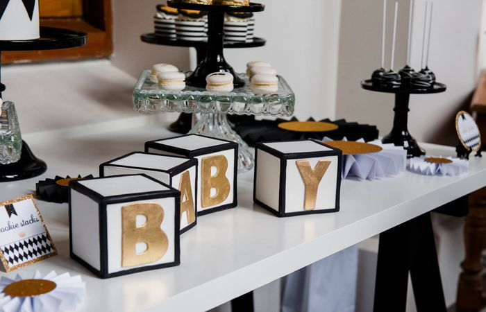 This Fit for a Prince baby shower was sent to us by Amanda fromRed Wagon Events and Daisy ofLeo and Bella. The party was timely, as it happened just around the time that PrinceGeorge was born. The ladies used a harlequin design with a black and gold palette for a luxurious and modern vibe.We love …