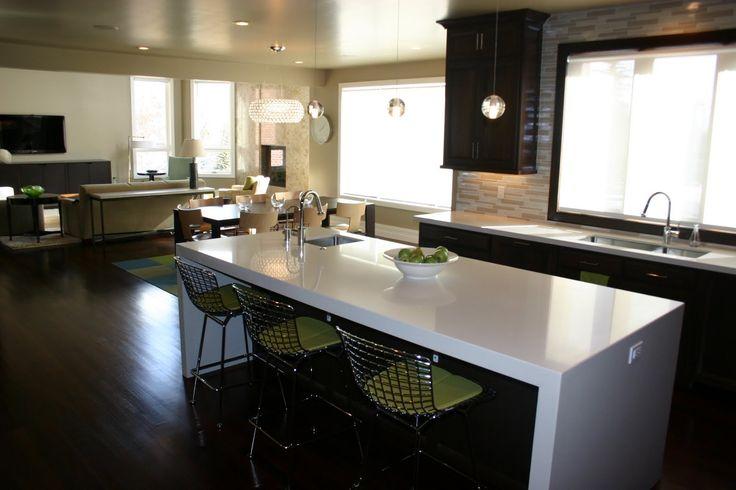 Modern Kitchen Countertop Edge