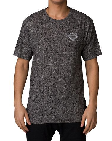 DIAMOND SUPPLY COMPANY MENS Dark Grey Clothing Tops XL