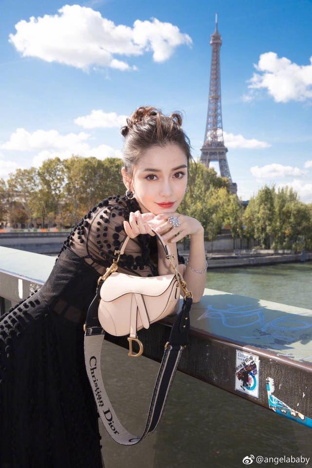 angelababy đẹp tựa nữ thần giữa kinh đô thời trang paris hình 9