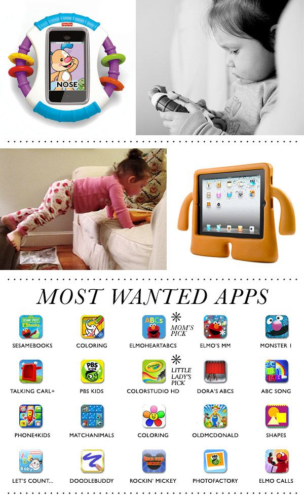iPad apps for kids.