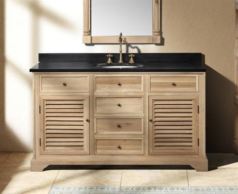 17 Best images about Bathroom Vanity Cabinets – Real Wood Bathroom Vanities