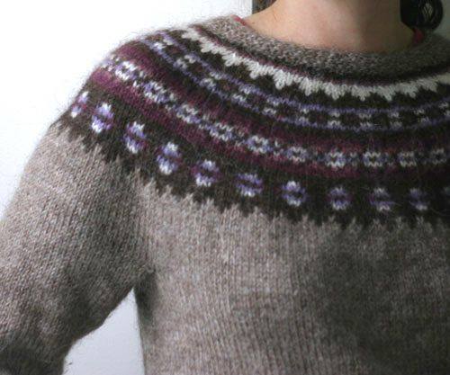 99 best Yoke Sweaters images on Pinterest   Knitting, Colors and ...