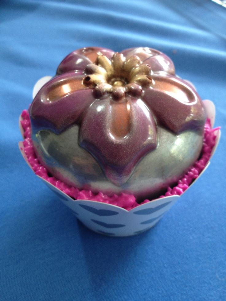 Nuevos Cupcakes satinados