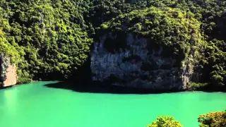 angthong national marine park and the Emerald Lake - YouTube