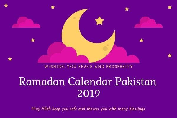 Ramadan Calendar 2019 Pakistan Timetable Prayer Fasting Time Sahar O Iftar Timing Ramadan Ramadan Kareem Prayer And Fasting