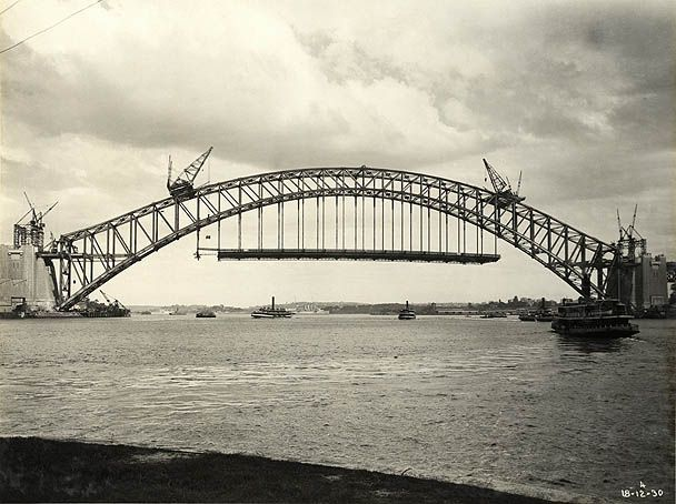 View from McMahons Point Dec 1930