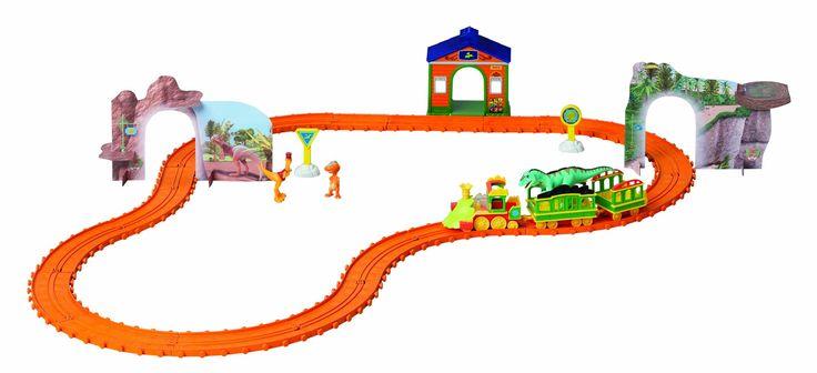 Dinosaur Train Motorised Adventure Train Set