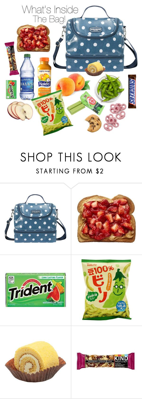 """""""022437317PM"""" by cheesyxshirleyxo ❤ liked on Polyvore featuring Jacki Design, lunchbag and whatsinsidethebag"""