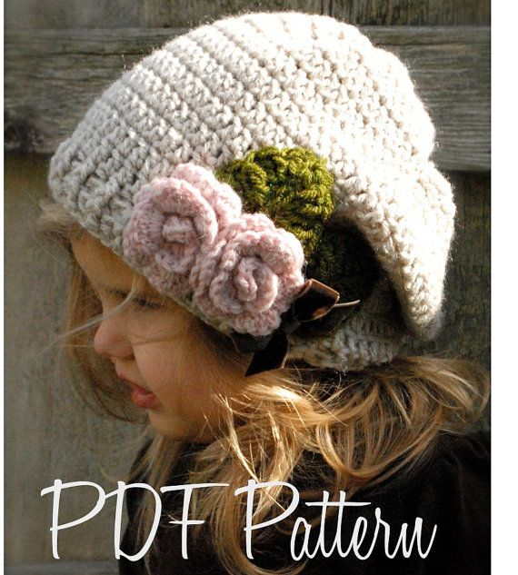 Crochet PATTERN-The Nala Slouchy (Toddler, Child, Adult sizes) also can be Made to Order. $5.50, via Etsy.