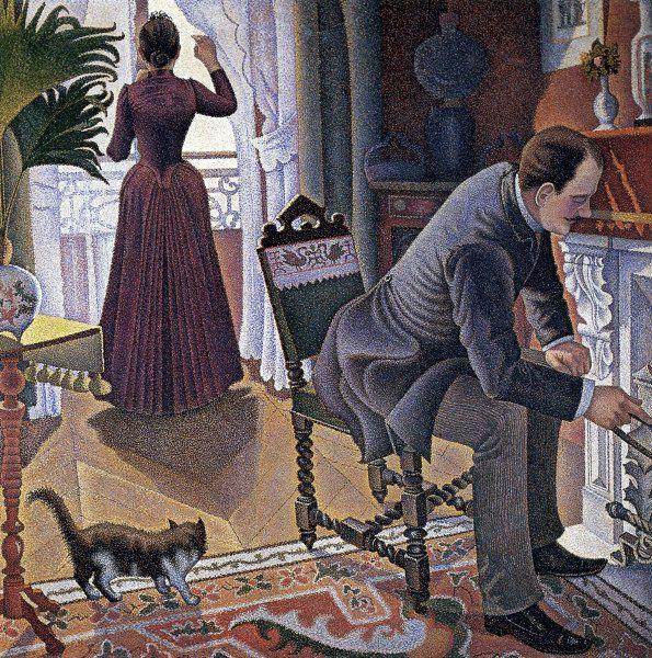 Paul Signac  French  1863 - 1935  Sunday