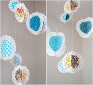 Hanging Paper Doilys