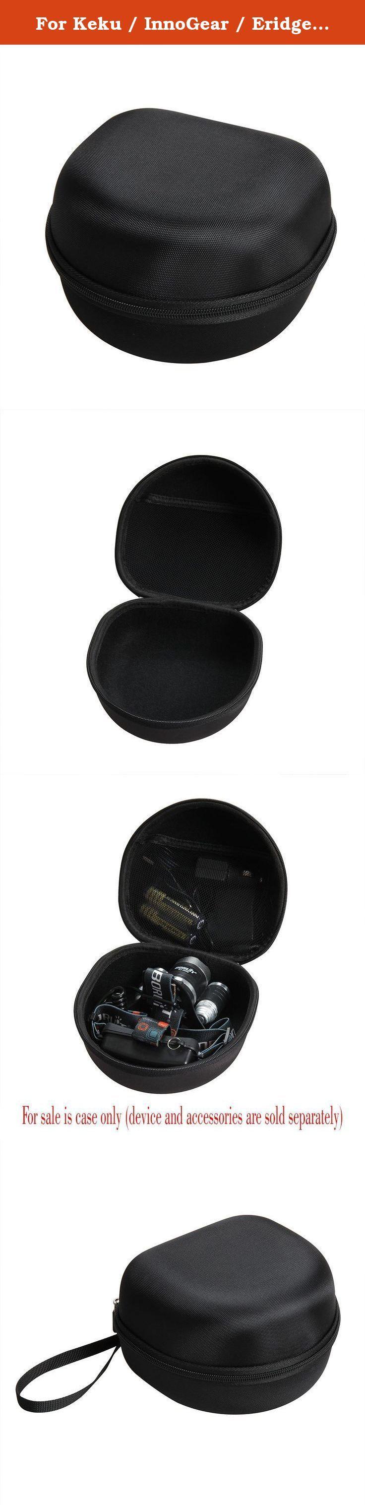 For Keku / InnoGear / Eridge / OUTERDO / Boruit RJ-3000 LED High Power 5000 Lumen Bright Headlight Headlamp Rechargeable Head Flashlight Lamp Hard EVA Travel Case Carrying Bag by Hermitshell. For Keku / InnoGear / Eridge / OUTERDO / Boruit RJ-3000 LED High Power 5000 Lumen Bright Headlight Headlamp Rechargeable Waterproof Head Flashlight Lamp Hard EVA Protective Case Carrying Pouch Cover Bag by Hermitshell.