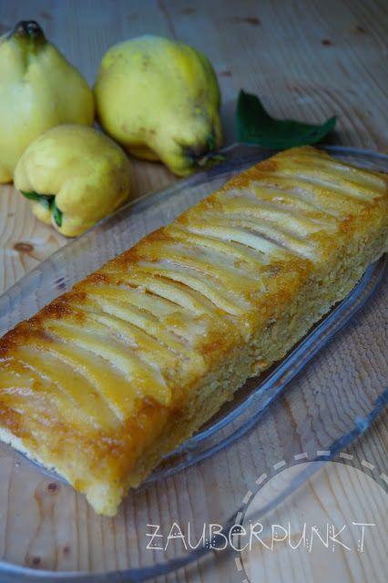 Quitten-Biskuit-Cake