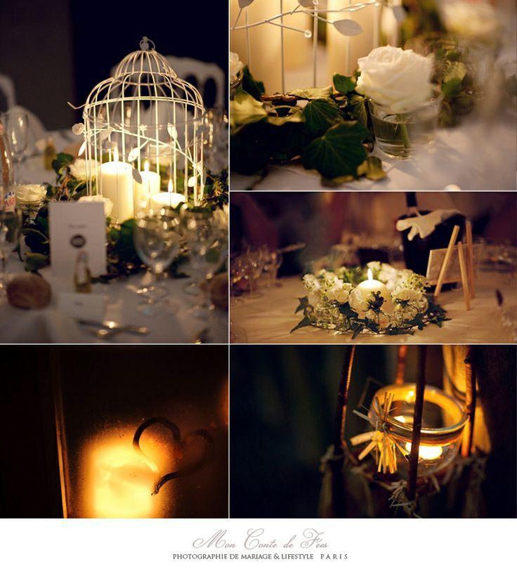 Idées déco : une table de mariage romantique pour l'hiver  Idée ...
