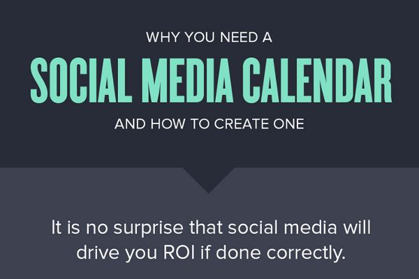 The easiest way to create a social media calendar that help to keep your marketing goals on track and increase your investment.