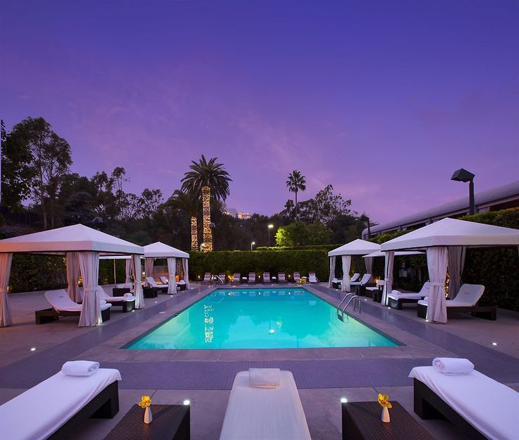 Luxe Sunset Boulevard Hotel, Los Angeles, California, USA.