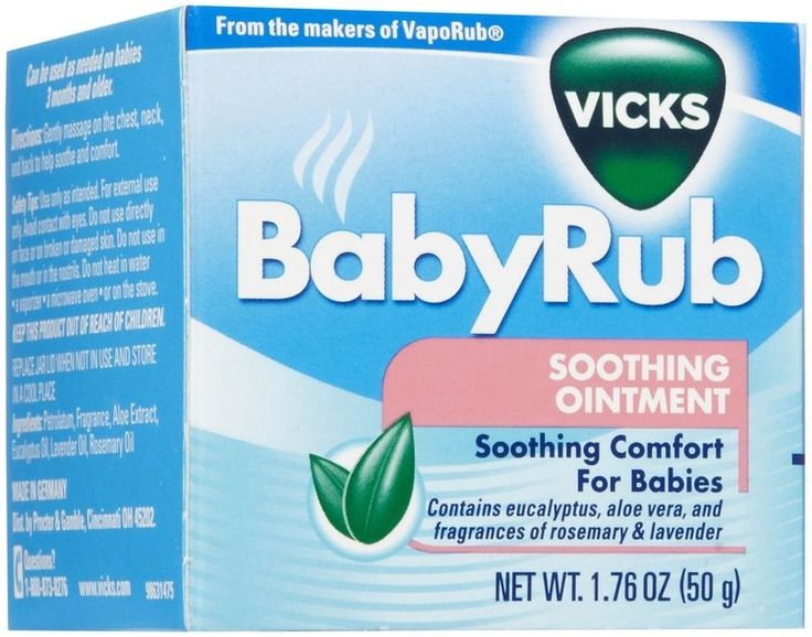 www.influenster.com/r/3070997 Vicks Baby Rub Soothing Ointment