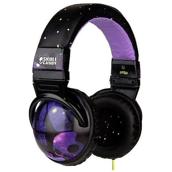 Skullcandy Hesh Headphones With Mic (£35) ❤ liked on Polyvore featuring headphones, accessories, electronics, music, hats and filler