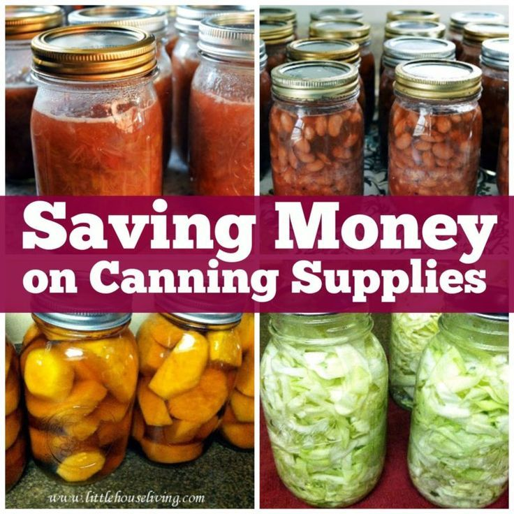 3 great ways to save money on canning supplies!