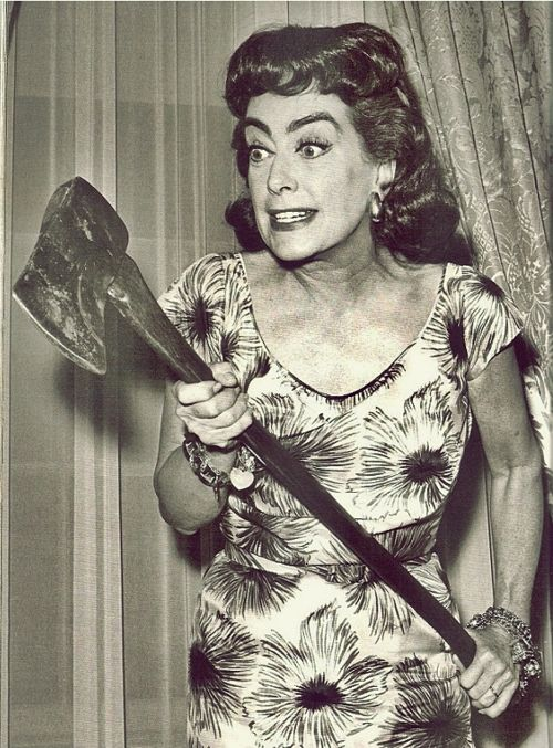 Straight Jacket (1964) starring the fabulously over-the-top Joan Crawford I loved this movie I couldn't stop laughing.