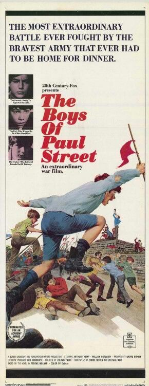 BEST FOREIGN LANGUAGE FILM NOMINEE: The Boys of Paul Street (from Hungary)