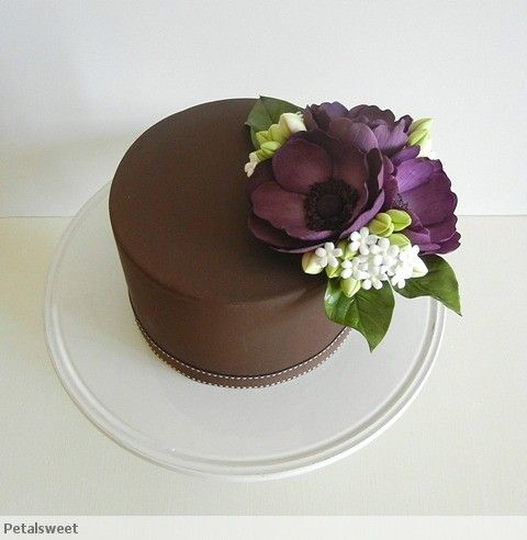 The Petalsweet Blog: The Single Tier Cake