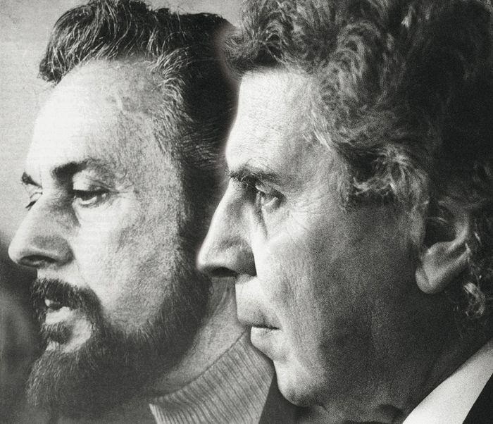 Mikis Theodorakis and Yiannis Ritsos