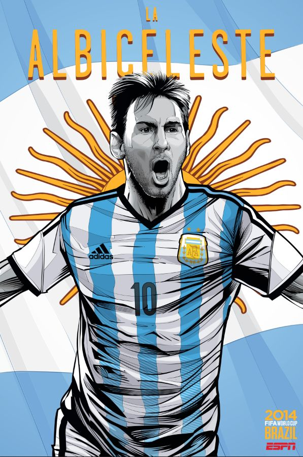 FIFA World Cup Brazil 2014  Argentina