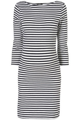 maternity stripe Tunic $44.