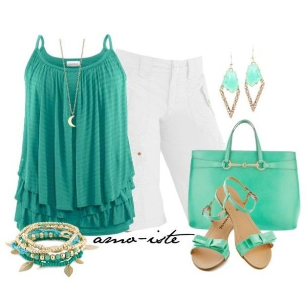 summer outfit ideas | Cute plus size outfits for summer