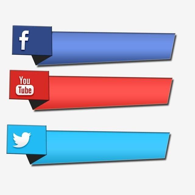 Facebook Youtube Twitter Social Media 3d Icon Social Media
