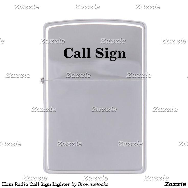 Ham Radio Call Sign Lighter