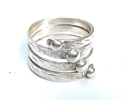 Sterling Silver Ring Spira Metalwork Sculptured Jewelry Konstantis Jewelry http://www.amazon.com/dp/B00QPDMGT4/ref=cm_sw_r_pi_dp_nSsUvb09D0GN9