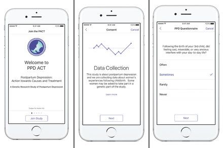 Hunting the Genetic Signs of Postpartum Depression With an iPhone App