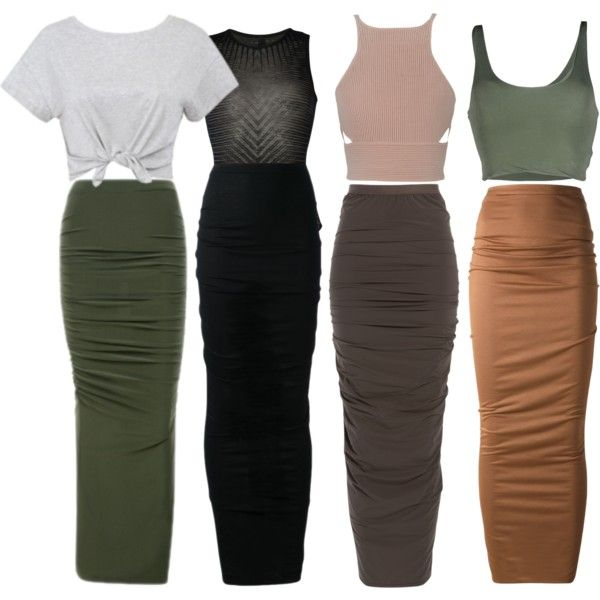 A fashion look from April 2015 featuring Roque tops, Givenchy skirts and Rick Owens skirts. Browse and shop related looks.