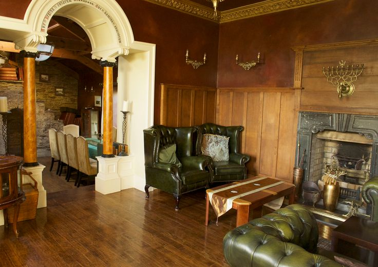 The Green room and the Breakfast room at Ballinacurra House